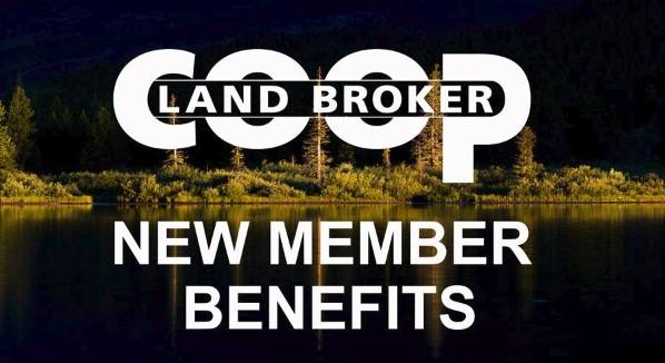 LAND BROKER CO-OP Announces New Member Benefits!